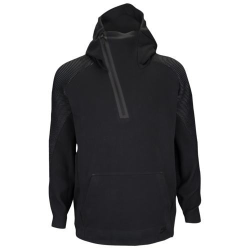 【海外限定】ナイキ テック フリース ハーフ フーディー パーカー メンズ nike tech fleece half zip tn hoodie