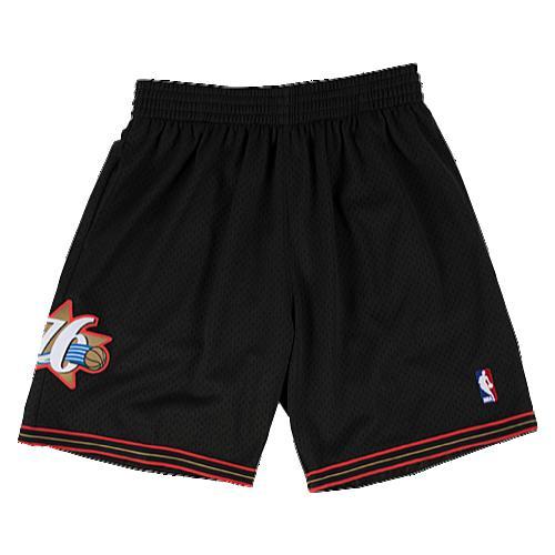 【海外限定】& ショーツ ハーフパンツ メンズ mitchell ness nba swingman shorts レディースファッション