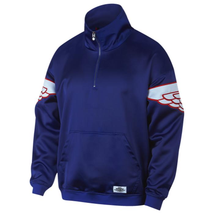 【海外限定】ジョーダン クラシック ジャケット メンズ jordan wings classic quarterzip jacket