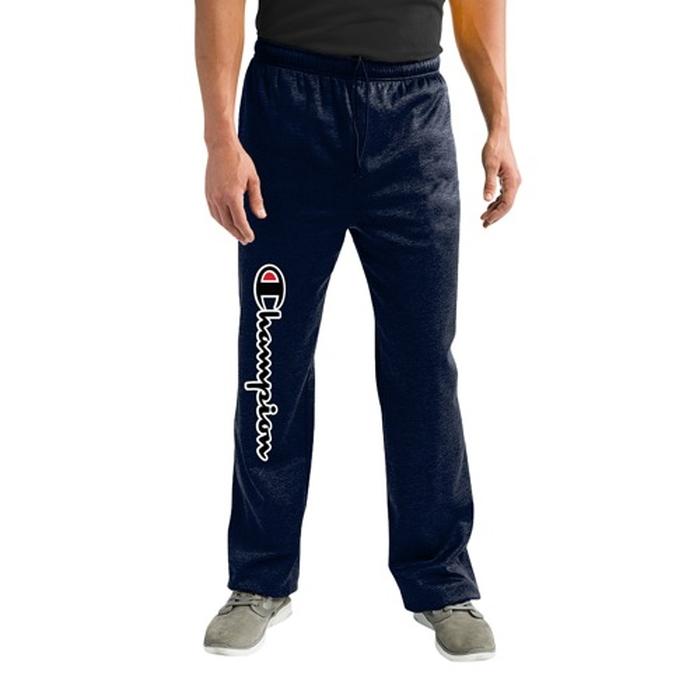 チャンピオン CHAMPION スクリプト フリース MENS メンズ BIG AND TALL SCRIPT OPEN HEM FLEECE PNT パンツ ファッション ズボン