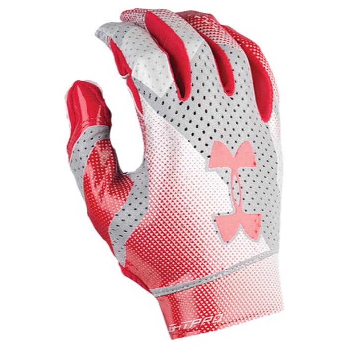 【海外限定】under armour アンダーアーマー spotlight pro プロ football フットボール gloves メンズ