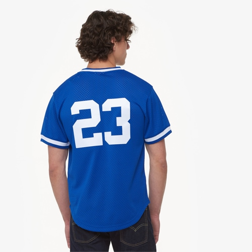 【海外限定】& ジャージ men's メンズ mitchell ness mlb player bp jersey mens