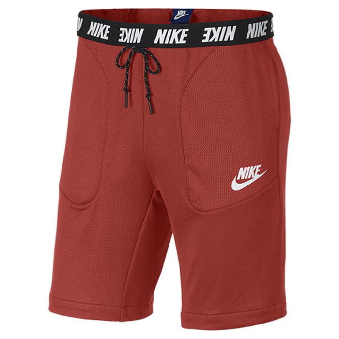 【海外限定】ナイキ フリース ショーツ ハーフパンツ メンズ nike advance 15 fleece shorts