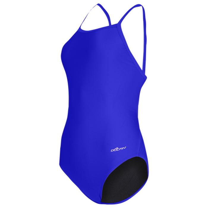【海外限定】dolfin team チーム solid ソリッド v2 back swimsuit レディース