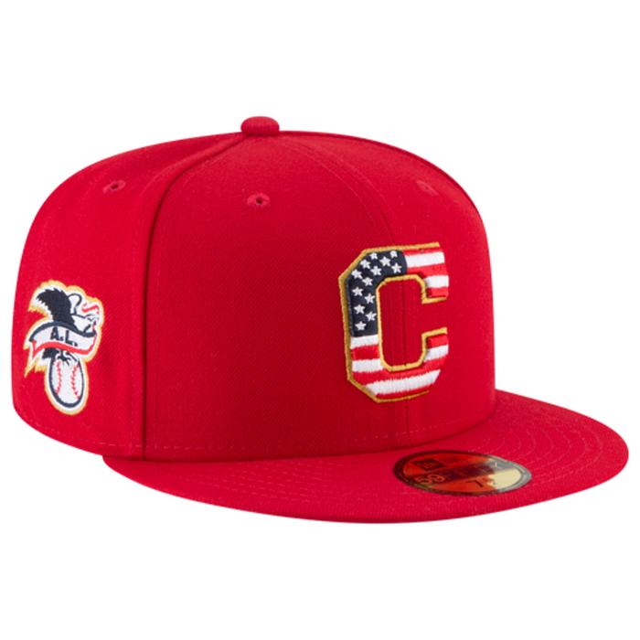 その他スポーツブランド メンズ カジュアル/ファッション 【海外限定】ニューエラ キャップ 帽子 men's メンズ new era mlb 59fifty july 4th cap mens