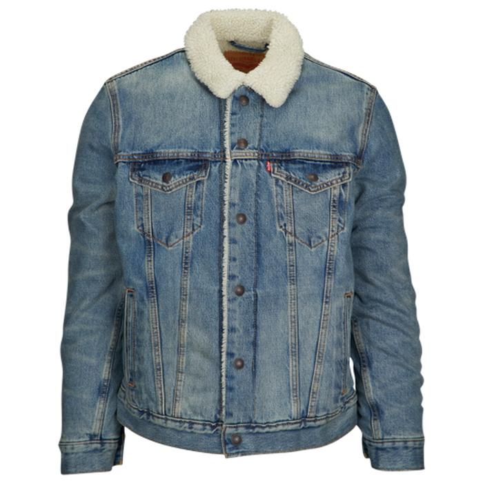 levi's トラッカー ジャケット men's メンズ levis sherpa trucker jacket mens