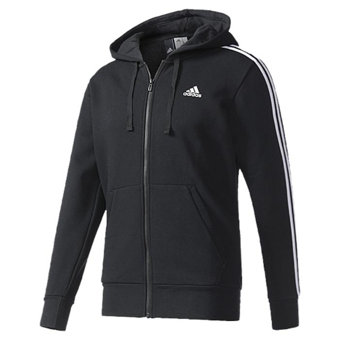 【海外限定】アディダス アディダスアスレチックス adidas athletics ストライプ フーディー パーカー メンズ essential 3 stripe fullzip hoodie