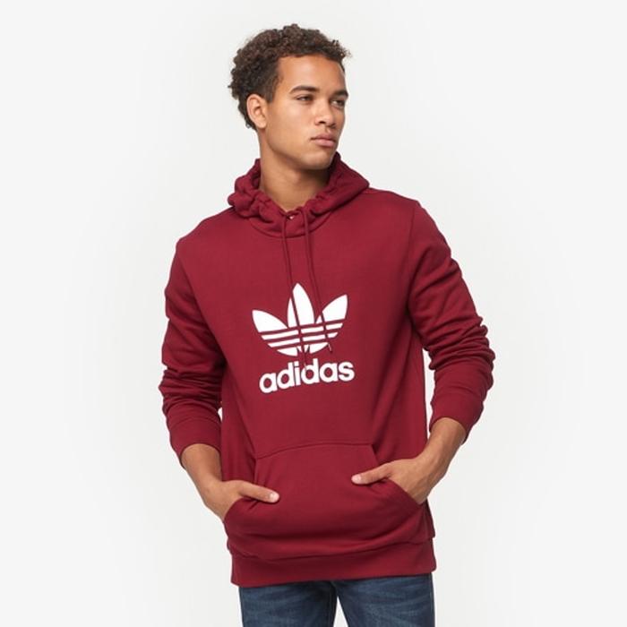 【海外限定】アディダス アディダスオリジナルス adidas originals trefoil po hoodie オリジナルス トレフォイル p o フーディー パーカー メンズ