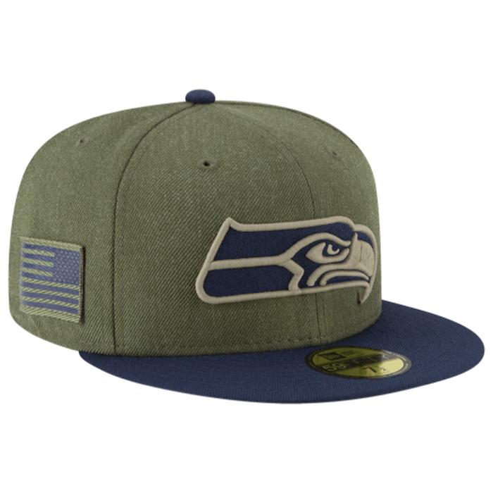 【海外限定】new era nfl 59fifty salute to service cap ニューエラ キャップ 帽子 メンズ