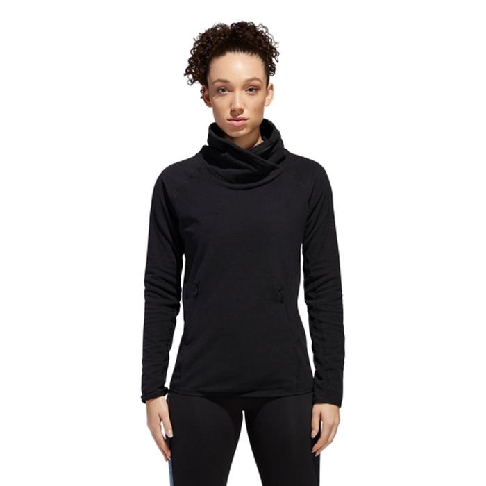 【海外限定】アディダス adidas フリース women's レディース fleece transitional cover up womens