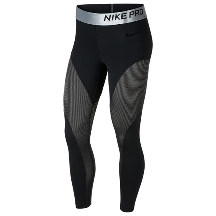 【海外限定】nike ナイキ pro プロ metallic metallic tights 7 pro 8 tights タイツ レディース, 直川村:5a371d0c --- reinhekla.no