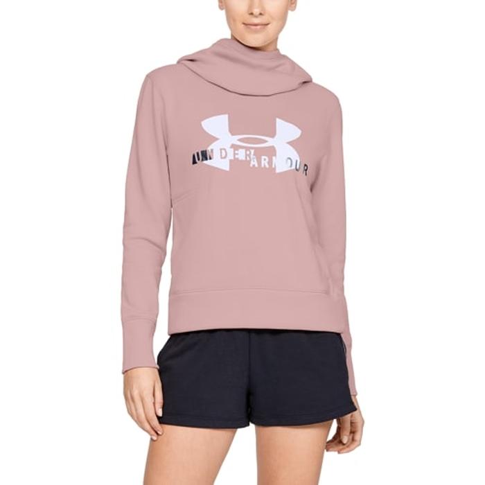 【海外限定】アンダーアーマー ロゴ フーディー パーカー women's レディース under armour sportstyle logo hoodie womens