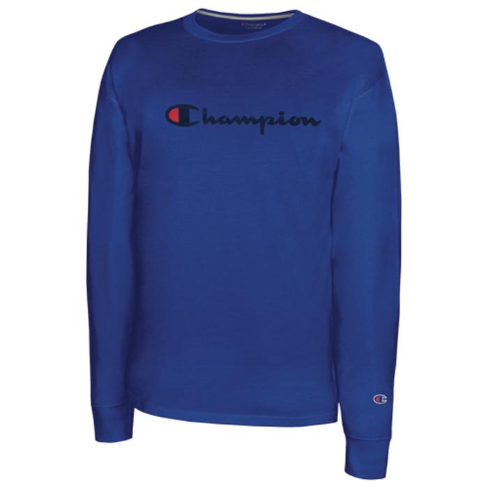 チャンピオン CHAMPION クラシック L S 長袖 ロングスリーブ シャツ MENS メンズ CLASSIC COTTON LS T Tシャツ トップス カットソー ファッション