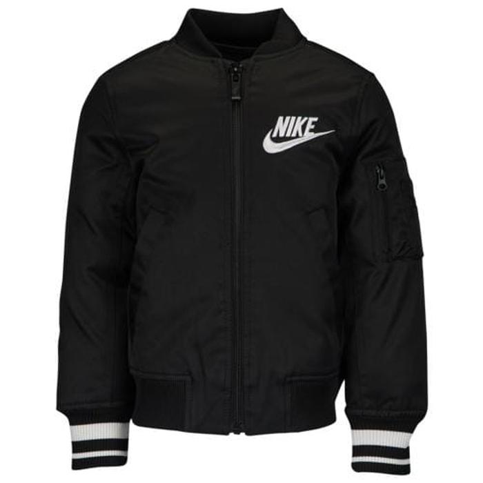【海外限定】nike ナイキ varsity bomber jacket ジャケット ps(preschool) キッズ 小学生 男の子 女の子 子供用