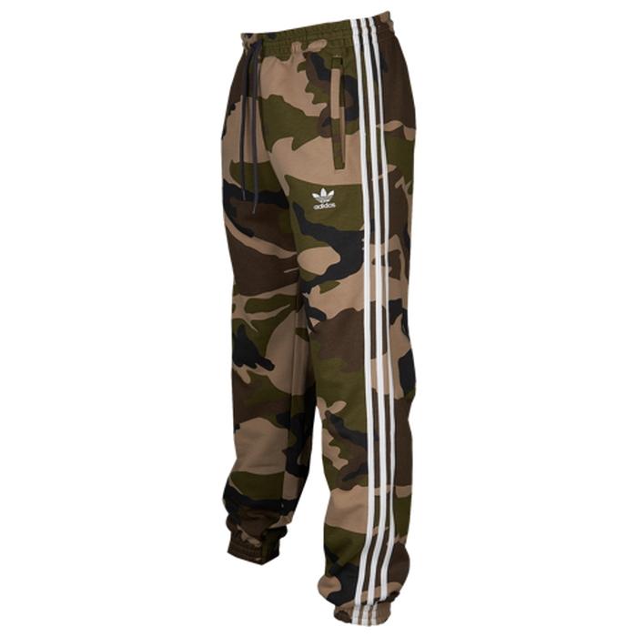 【海外限定】アディダス アディダスオリジナルス adidas originals オリジナルス フリース メンズ camo fleece pants