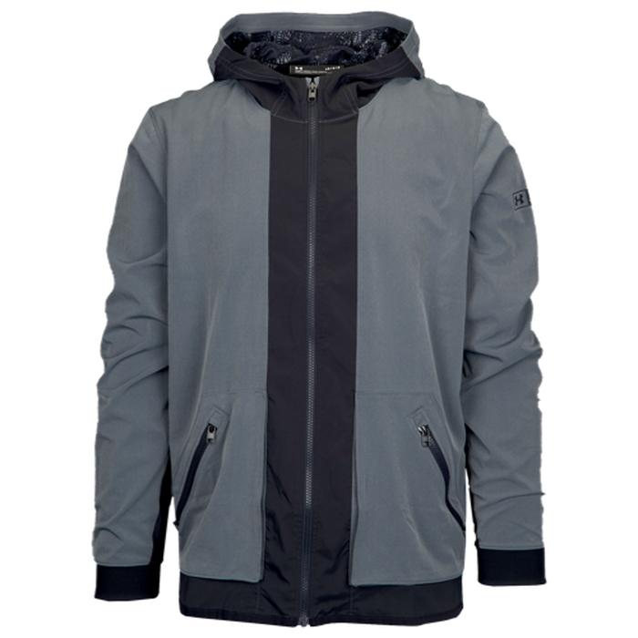 【海外限定】アンダーアーマー ウーブン ジャケット メンズ under armour sc30 woven jacket アクセサリー スポーツウェア アウトドア セットアップ メンズジャージ ジャージ スポーツ