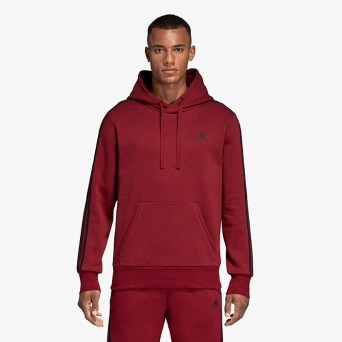 【海外限定】アディダス アディダスアスレチックス adidas athletics ストライプ p o フーディー パーカー men's メンズ essential 3 stripe po hoodie mens メンズファッション