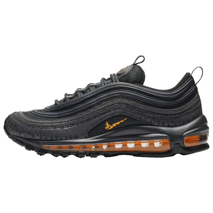 nike air max 97 off noir/orange trance/thunder grey