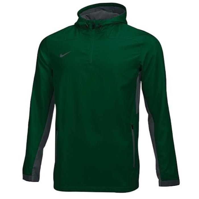 【海外限定】nike ナイキ team チーム woven ウーブン 1 4 zip jacket ジャケット メンズ