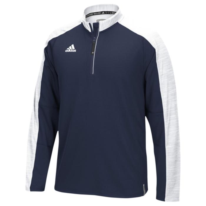 【海外限定】アディダス adidas チーム モダン l s 長袖 ロングスリーブ 1 4 メンズ team modern varsity ls 14 zip レディースファッション