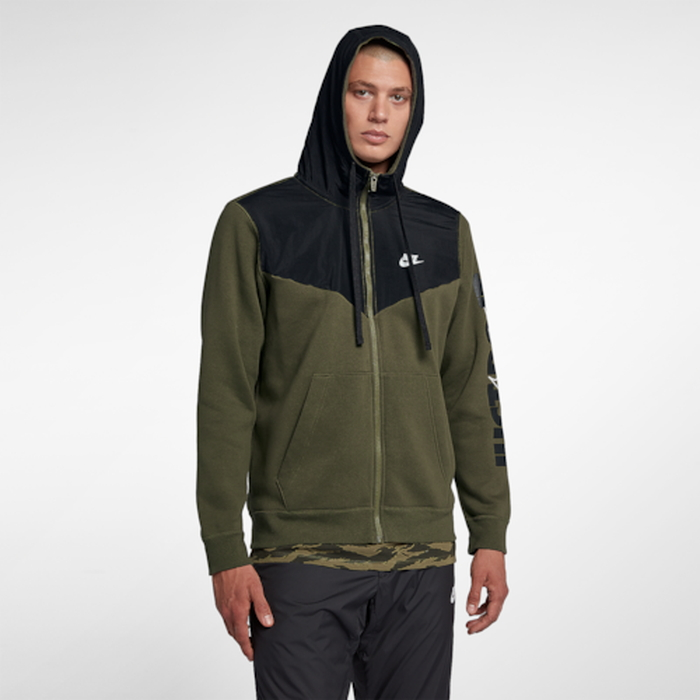 【海外限定】nike ナイキ jdi fleece フリース fullzip hoodie フーディー パーカー メンズ