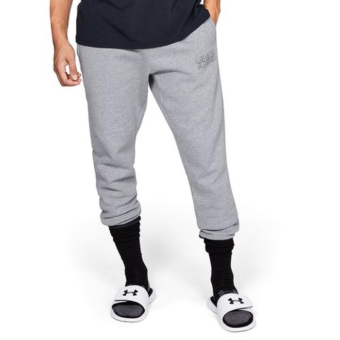【海外限定】アンダーアーマー バセリン フリース メンズ under armour baseline fleece tappered pants