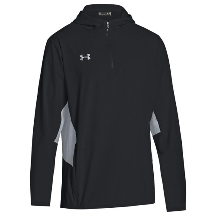 【海外限定】under armour アンダーアーマー armour team チーム ウーブン squad men's woven ウーブン 1 4 zip jacket ジャケット men's メンズ, キッチンガーデン:5eebd43b --- officewill.xsrv.jp