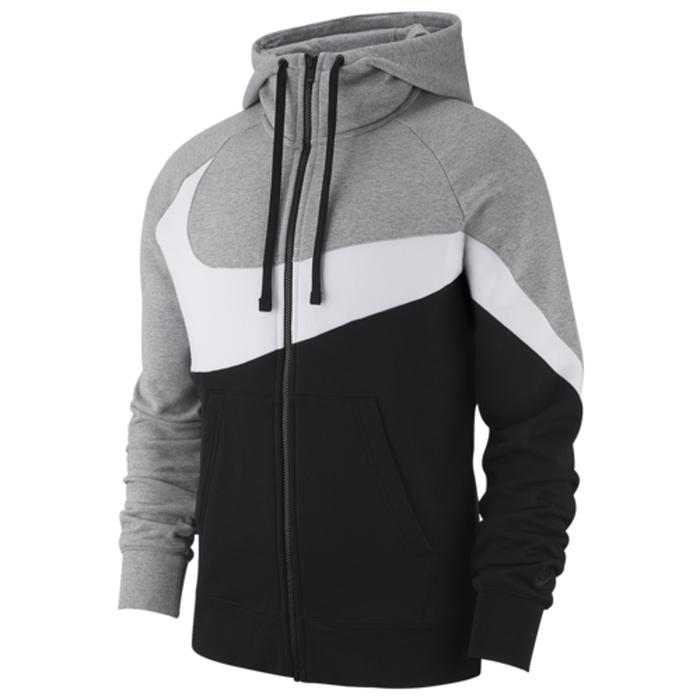 【海外限定】ナイキ スウッシュ スウォッシュ フーディー パーカー メンズ nike large swoosh fullzip hoodie