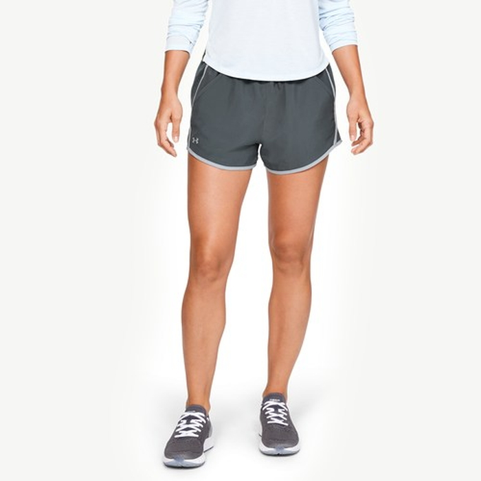 【海外限定】under armour アンダーアーマー heatgear fly by run ラン shorts ショーツ ハーフパンツ women's レディース