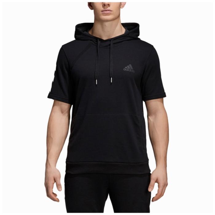 【海外限定】アディダス adidas pickup ss t hoodie s 半袖 シャツ フーディー パーカー メンズ