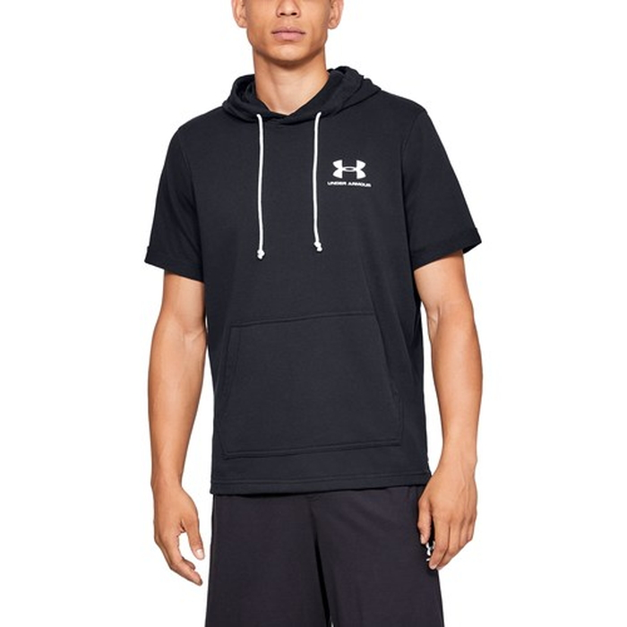 【海外限定】アンダーアーマー sportstyle スリーブ フーディー パーカー men's メンズ スリーブ under under armour sportstyle terry short sleeve hoodie mens, 焦点工房:888a2a9b --- officewill.xsrv.jp