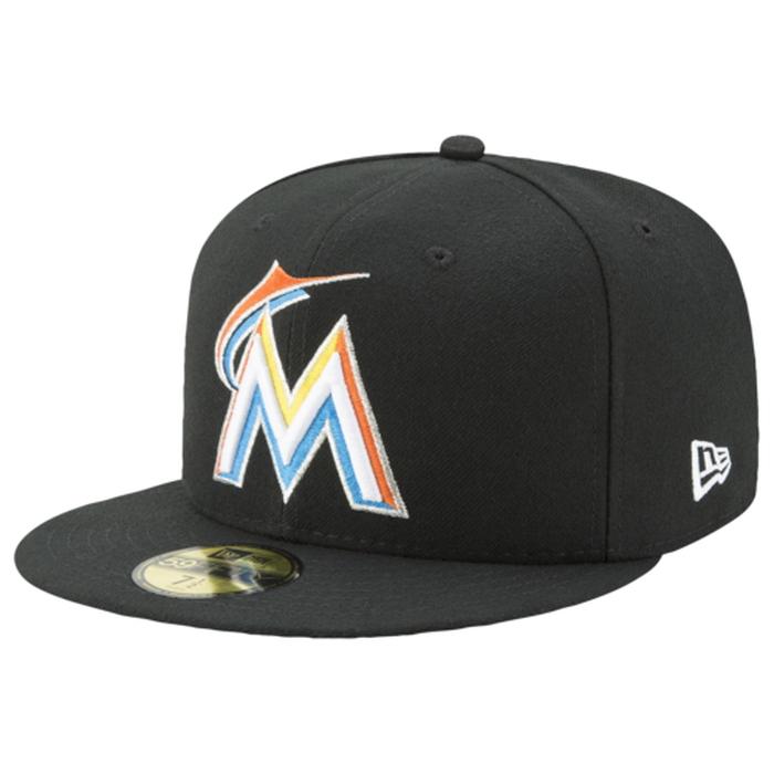【海外限定】ニューエラ オーセンティック キャップ 帽子 メンズ new era mlb 59fifty authentic cap