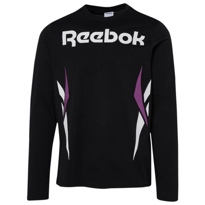 リーボック REEBOK スリーブ シャツ MENS メンズ VECTOR LONG SLEEVE T カットソー Tシャツ ファッション トップス