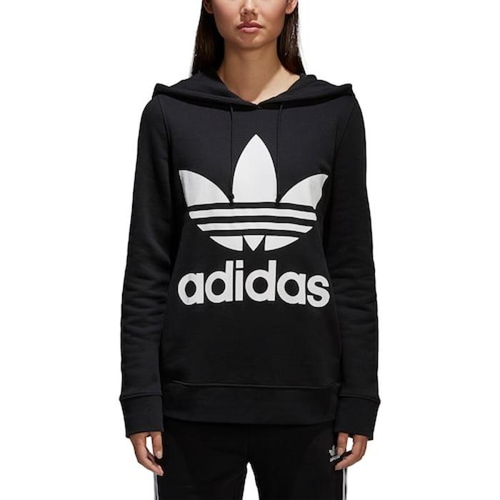 【海外限定】アディダス adidas originals オリジナルス adicolor trefoil トレフォイル hoodie フーディー パーカー レディース