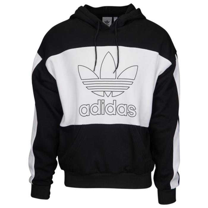 【海外限定】アディダス アディダスオリジナルス adidas originals オリジナルス フーディー パーカー メンズ outline block hoodie レディースファッション