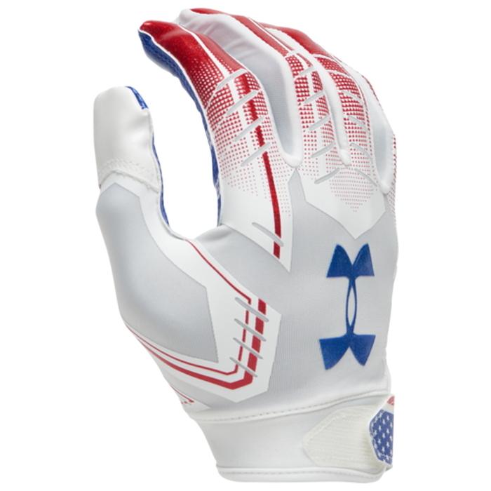 【海外限定】under armour f6 receiver gloves アンダーアーマー レシーバー メンズ