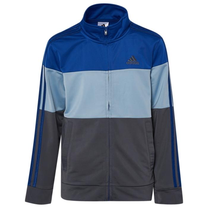 【海外限定】アディダス adidas colorblock tricot jacket gsgradeschool ジャケット gs(gradeschool) ジュニア キッズ