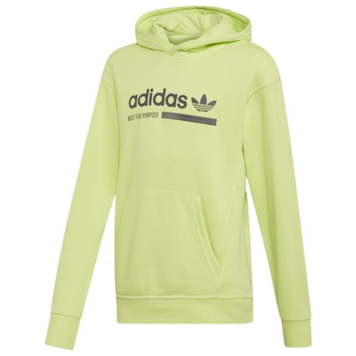 【海外限定】アディダス アディダスオリジナルス adidas originals オリジナルス フリース フーディー パーカー gs(gradeschool) ジュニア キッズ kaval fleece pullover hoodie gsgradeschool