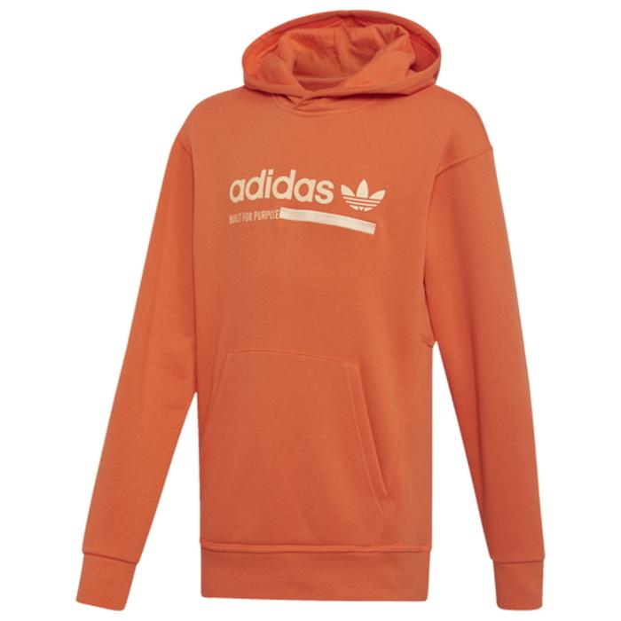 【海外限定】アディダス アディダスオリジナルス adidas originals kaval fleece pullover hoodie gsgradeschool オリジナルス フリース フーディー パーカー gs(gradeschool) ジュニア キッズ