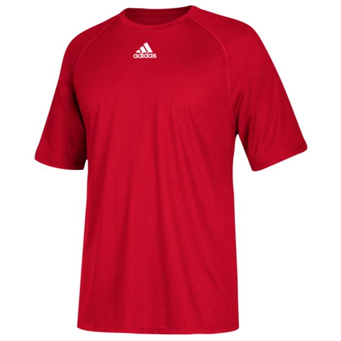 アディダス ADIDAS チーム スリーブ シャツ MENS メンズ TEAM CLIMALITE SHORT SLEEVE T フィットネス スポーツ アウトドア トップス トレーニング 送料無料