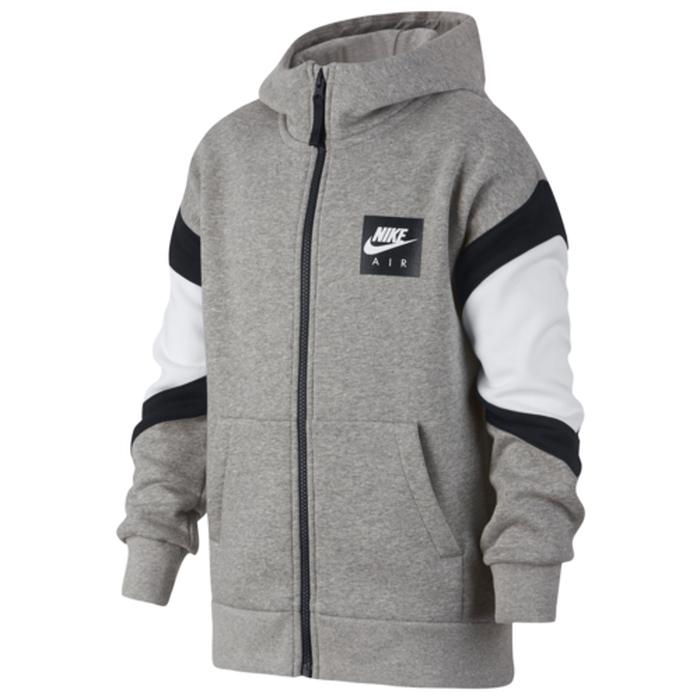 【海外限定】nike ナイキ air エアー fullzip hoodie フーディー パーカー gs(gradeschool) ジュニア キッズ