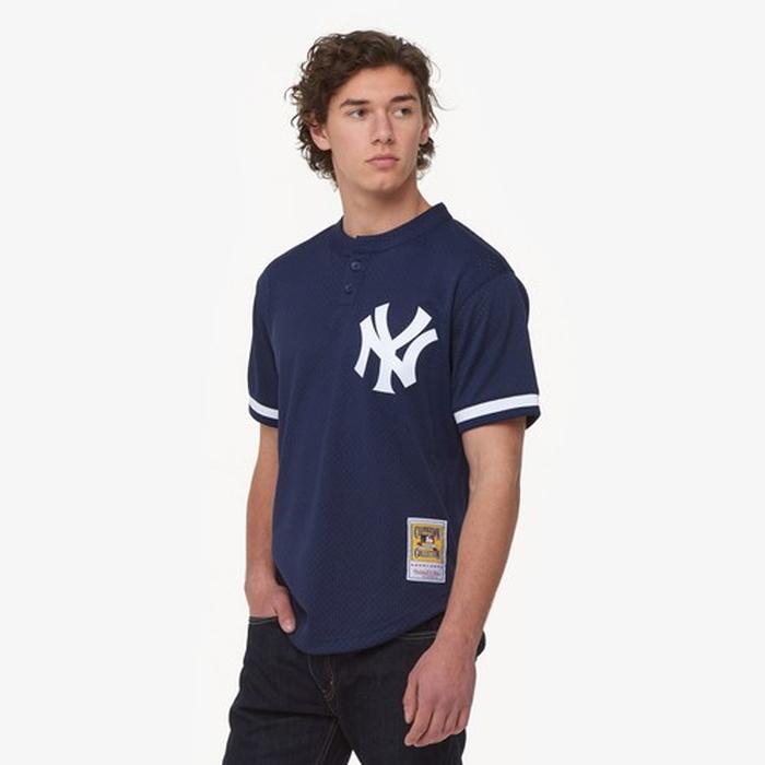 & ジャージ men's メンズ mitchell ness mlb player bp jersey mens
