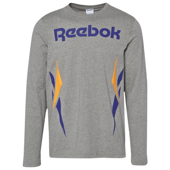 リーボック REEBOK スリーブ シャツ MENS メンズ VECTOR LONG SLEEVE T カットソー トップス Tシャツ ファッション
