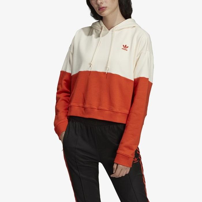 【海外限定】アディダス アディダスオリジナルス adidas originals オリジナルス フーディー パーカー レディース cutout 3stripe pullover hoodie 靴 キッズ ベビー