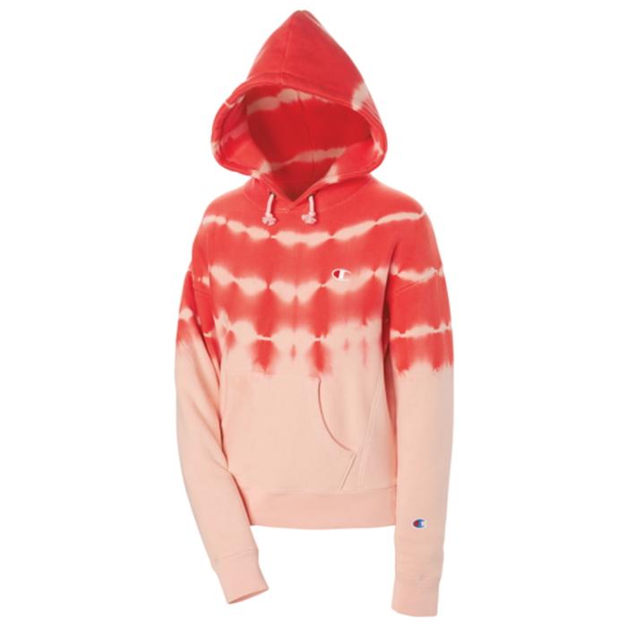 【海外限定】チャンピオン champion ストリーク リベンジ フーディー パーカー レディース streak dye reverse weave hoodie