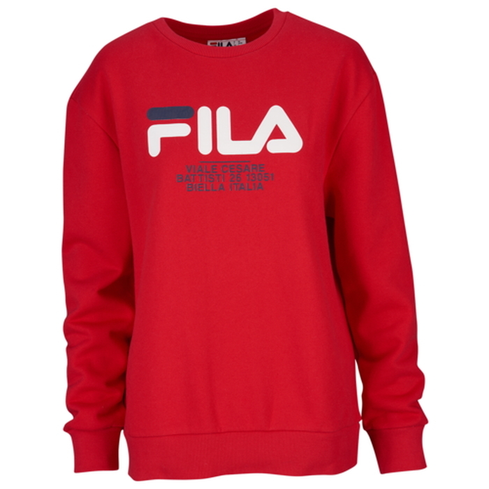 fila フィラ agnese sweatshirt women's レディース
