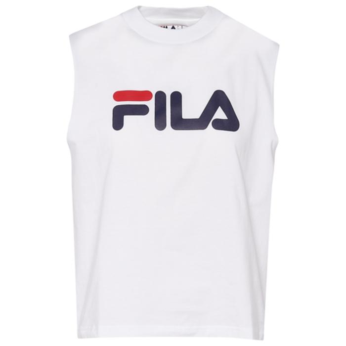 フィラ FILA ノンスリーブ WOMENS レディース HELENA SLEEVELESS TOP Tシャツ レディースファッション トップス カットソー