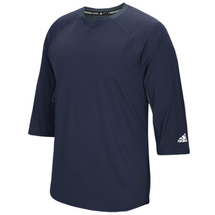 アディダス ADIDAS FIELDERS チョイス 3 4 スリーブ シャツ MENS メンズ CHOICE 34 SLEEVE T スポーツ 野球 ソフトボール アウトドア 送料無料