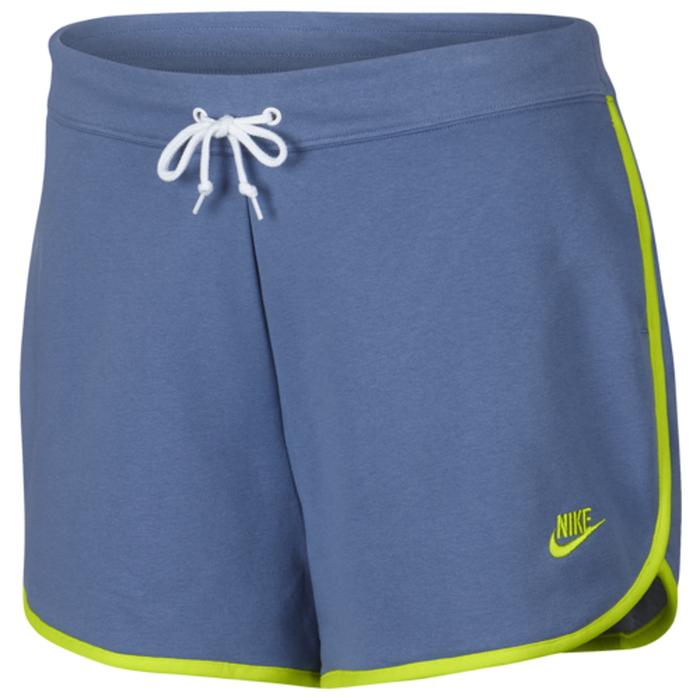【海外限定】ナイキ フリース ショーツ ハーフパンツ women's レディース nike sportswear nsw heritage fleece shorts plus size womens