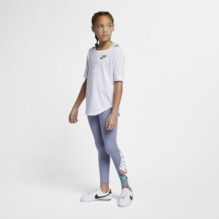 【海外限定】nike air leggings gsgradeschool ナイキ エアー レギンス タイツ gs(gradeschool) ジュニア キッズ